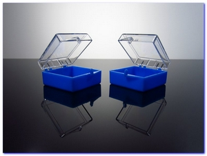 BJ Plastic Crystal Blue Boxes